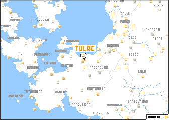 map of Tulac