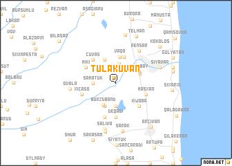 map of Tülǝküvan