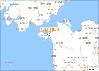 map of Tulatula