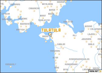 map of Tulatula