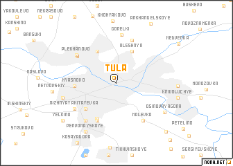 map of Tula