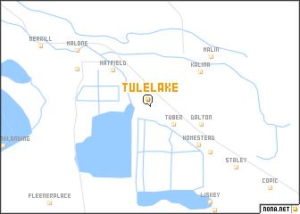 map of Tulelake
