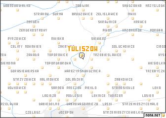 map of Tuliszów