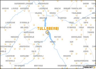 map of Tullabembi