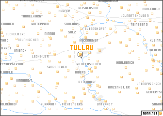 map of Tullau