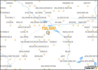 map of Tulniki