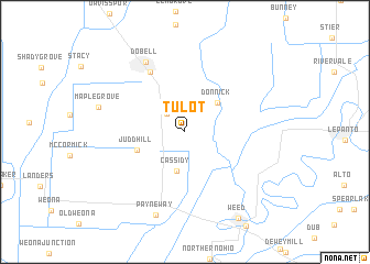 map of Tulot
