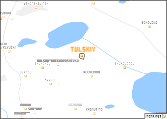 map of Tul\