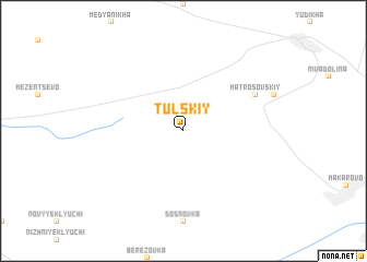map of Tul\