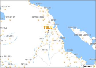 map of Tulu