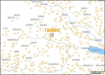 map of Tumaric