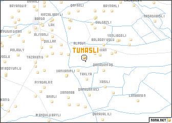 map of Tumaslı