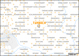 map of Tumbach