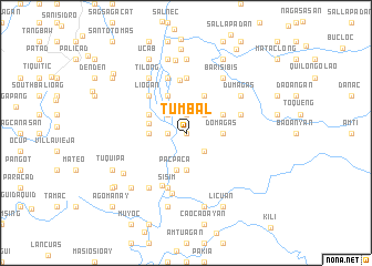 map of Tumbal