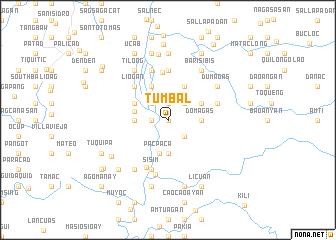 map of Tumbal