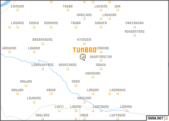 map of Tumbao