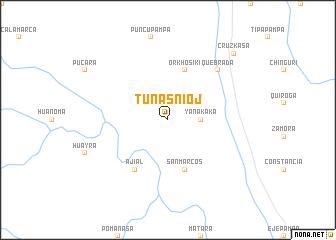 map of Tunasnioj