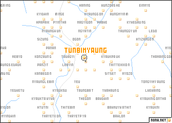 map of Tunbimyaung