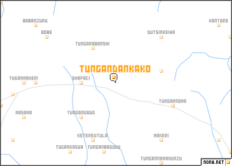 map of Tungan Dankako