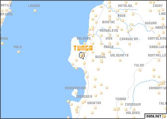 map of Tunga