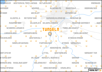 map of Tungeln