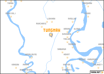map of Tungmaw