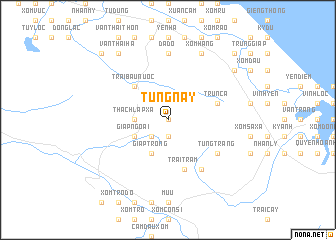 map of Tùng Nậy