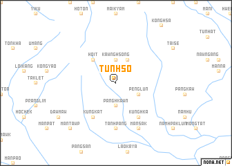 map of Tunhso