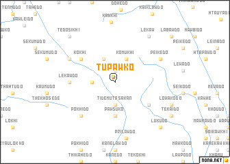 map of Tupawko