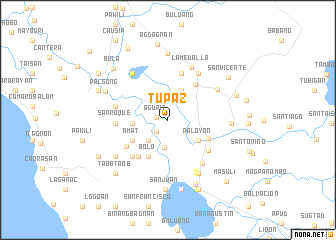 map of Tupaz