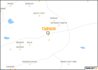 map of Tupikin