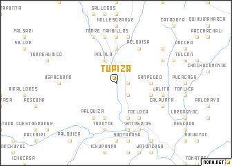map of Tupiza