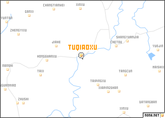 map of Tuqiaoxu