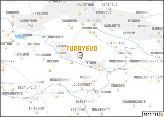 map of Turayevo