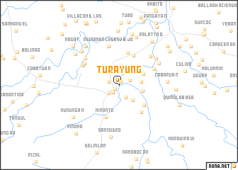 map of Turayung