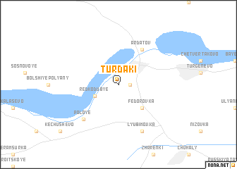 map of Turdaki