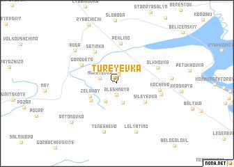map of Tureyevka