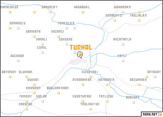 map of Turhal