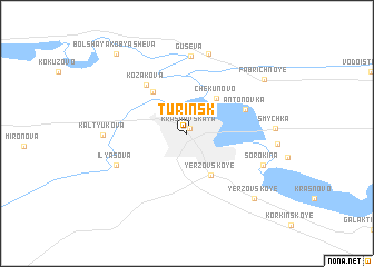 map of Turinsk