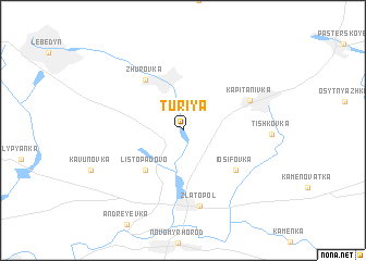 map of Turiya