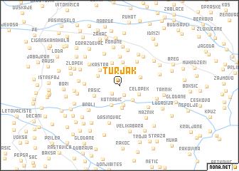map of Turjak