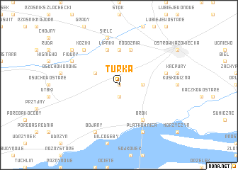map of Turka