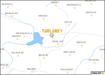 map of Türlübey