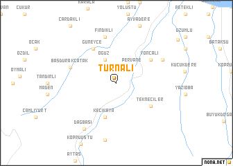 map of Turnalı