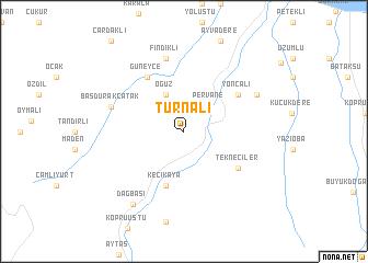 map of Turnalı