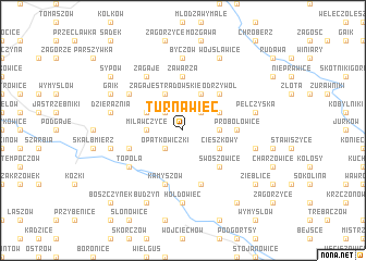 map of Turnawiec