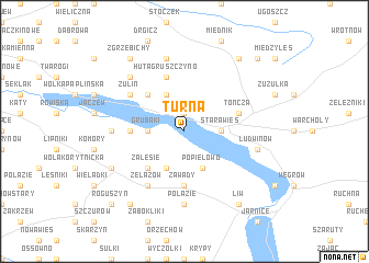 map of Turna