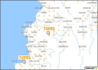 map of Turod