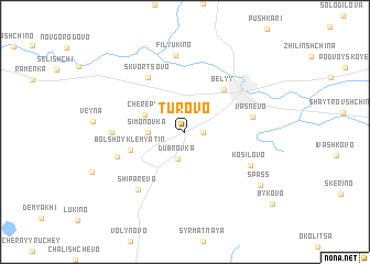 map of Turovo