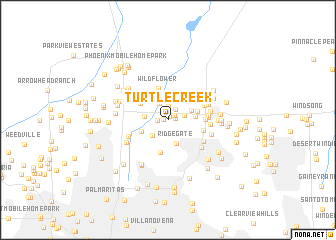 map of Turtle Creek